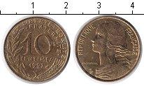 Изображение Дешевые монеты Франция 10 сантим 1997