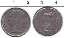 Изображение Дешевые монеты Бельгия 1 франк 1970