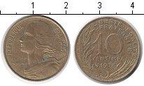 Изображение Дешевые монеты Франция 10 сантим 1978