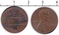Изображение Дешевые монеты США 1 цент 1981