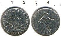 Изображение Дешевые монеты Не определено 1 франк 1968