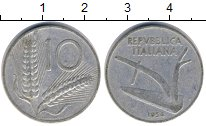 Изображение Дешевые монеты Не определено 10 лир 1954