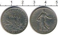Изображение Дешевые монеты Не определено 1 франк 1977