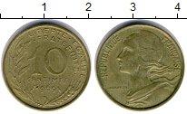 Изображение Дешевые монеты Не определено 10 сантим 1969