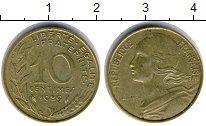 Изображение Дешевые монеты Не определено 10 сантим 1989