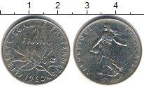 Изображение Дешевые монеты Не определено 1 франк 1960