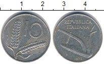 Изображение Дешевые монеты Не определено 10 лир 1973