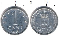 Изображение Дешевые монеты Антильские острова 1 цент 1982