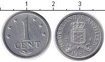 Изображение Дешевые монеты Антильские острова 1 цент 1981 Алюминий XF