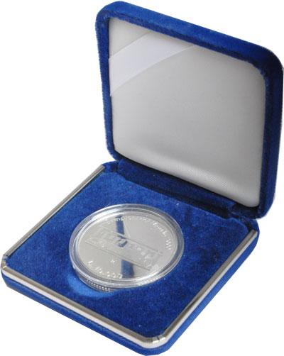 Изображение Подарочные монеты Сан-Марино 10.000 лир 2001 Серебро Proof Монета посвящена ком
