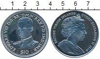 Изображение Монеты Виргинские острова 10 долларов 2006 Серебро Proof- Эдвард VIII
