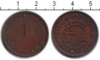 Изображение Монеты Мозамбик 1 эскудо 1973 Медь XF