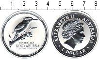 Изображение Монеты Австралия 1 доллар 2003 Серебро Proof Кукабара