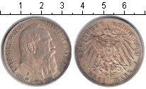 Изображение Монеты Бавария 3 марки 1911 Серебро XF Луитпольд
