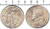 Изображение Монеты Панама 1 бальбоа 1947 Серебро UNC- Васко Нуньес де Баль