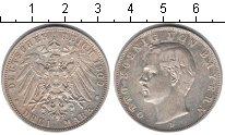 Изображение Монеты Бавария 3 марки 1909 Серебро XF Отто