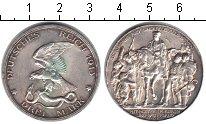 Изображение Монеты Пруссия 3 марки 1913 Серебро XF 100 лет победы над Н
