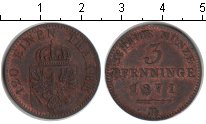 Изображение Монеты Пруссия 2 пфеннига 1871 Медь XF
