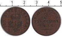 Изображение Монеты Пруссия 2 пфеннига 1852 Медь XF