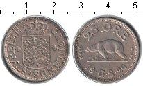 Изображение Монеты Гренландия 25 эре 1926 Медно-никель XF Белый медведь