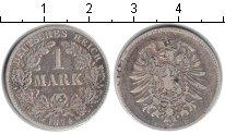 Изображение Монеты Германия 1 марка 1874 Серебро VF