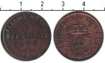 Изображение Монеты Пруссия 3 пфеннига 1867 Медь XF