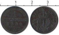 Изображение Монеты Пруссия 1 пфенниг 1856 Медь VF