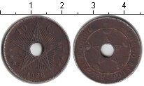 Изображение Монеты Бельгия Бельгийское Конго 10 сантим 1928 Медно-никель VF