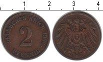 Изображение Монеты Германия 2 пфеннига 1906 Медь  J