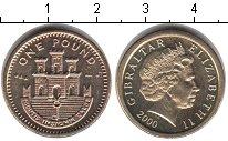 Изображение Монеты Гибралтар 1 фунт 2000  UNC-