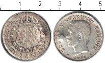 Изображение Монеты Швеция 1 крона 1938 Серебро VF Густав V