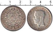 Изображение Монеты Швеция 1 крона 1939 Серебро XF Густав V