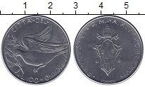 Изображение Мелочь Ватикан 100 лир 1977 Медно-никель UNC- Голубь мира