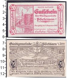 Изображение Боны Германия : Нотгельды 20 геллеров 1921  XF