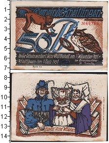 Изображение Банкноты Германия : Нотгельды 50 пфеннигов 921  XF