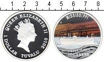 Изображение Монеты Тувалу 1 доллар 2010 Серебро Proof- Путешествие по велик