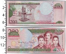 Изображение Банкноты Доминиканская республика 200 песо 2013  UNC