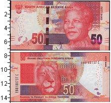 Изображение Боны ЮАР 50 рандов 0  UNC-