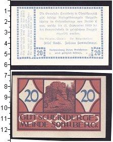 Изображение Банкноты Германия : Нотгельды 20 геллеров 0  XF