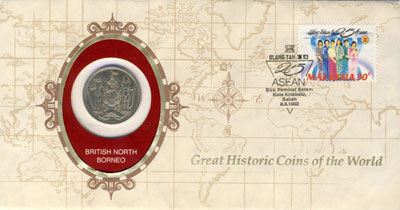 Изображение Подарочные монеты Саар История мира 1927 Медно-никель VF История мира. Монета