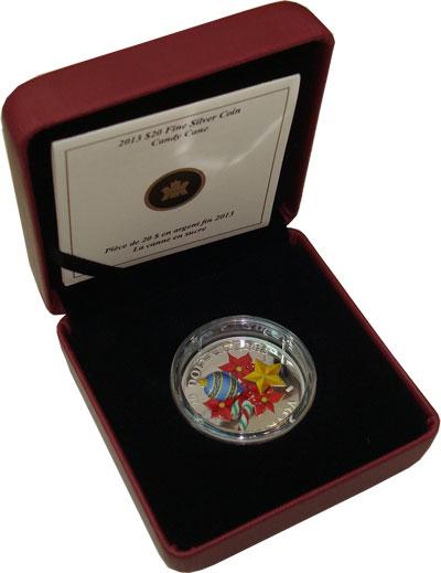 Изображение Наборы монет Канада 20 долларов 2013 Серебро Proof `Подарочная монета `