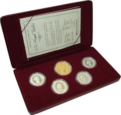 Изображение Подарочные монеты Австралия 40-летие правления Елизаветы II 1992 Серебро Proof