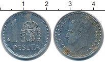 Изображение Дешевые монеты Испания 1 песета 1987