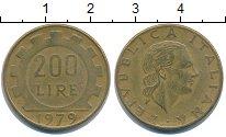 Изображение Дешевые монеты Италия 200 лир 1979