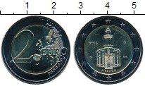 Изображение Мелочь Германия 2 евро 2015 Биметалл UNC G. Гессен.