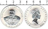 Изображение Монеты Австралия 10 долларов 1995 Серебро Proof- плавание