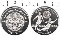 Изображение Монеты Бутан 300 нгултрум 1993 Серебро Proof- Олимпийские игры 199