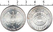 Изображение Монеты ФРГ 5 марок 1973 Серебро XF 125-ая Годовщина Фра