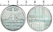 Изображение Монеты ФРГ 5 марок 1975 Серебро XF