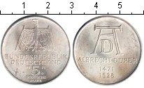 Изображение Монеты ФРГ 5 марок 1971 Серебро XF 500-ая годовщина со